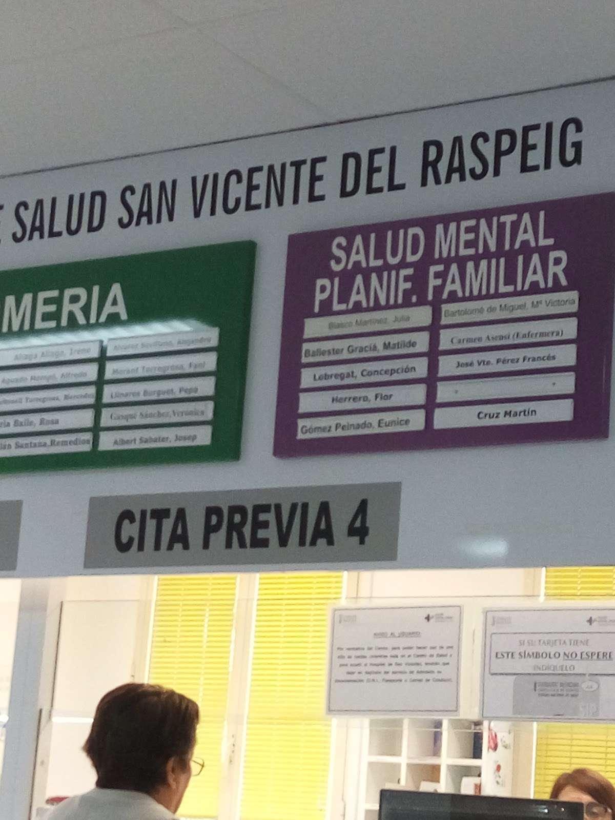 Centro De Salud De San Vi San Vicent del Raspeig Healthcare 0/10